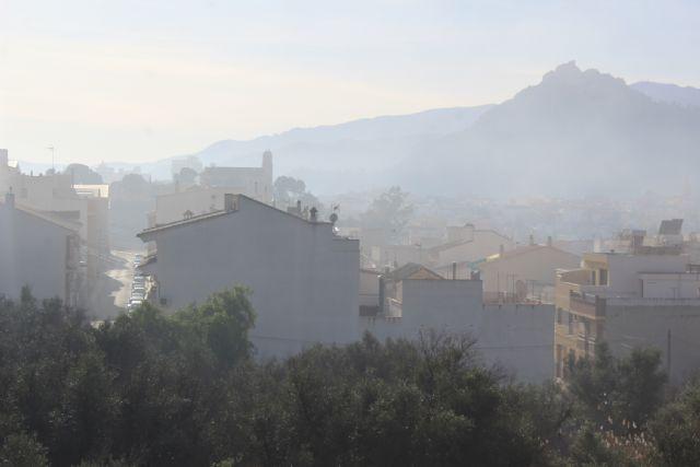 La falta de control sobre las quemas agrícolas sigue provocando problemas de contaminación en Cieza - 3, Foto 3