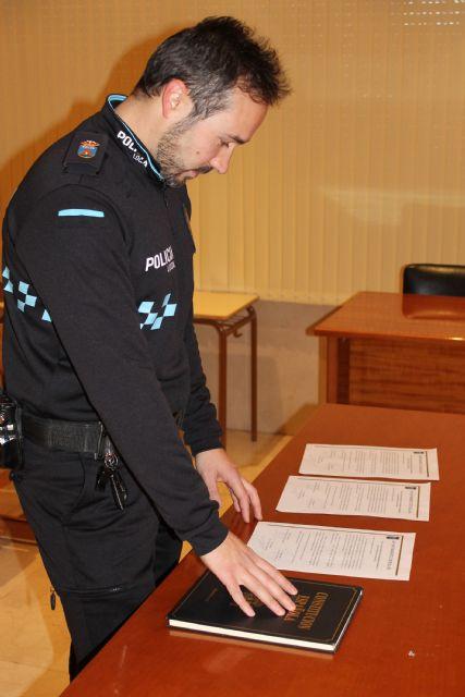Un nuevo agente se incorpora a la plantilla de la Policía Local de Bullas tras una permuta, Foto 1