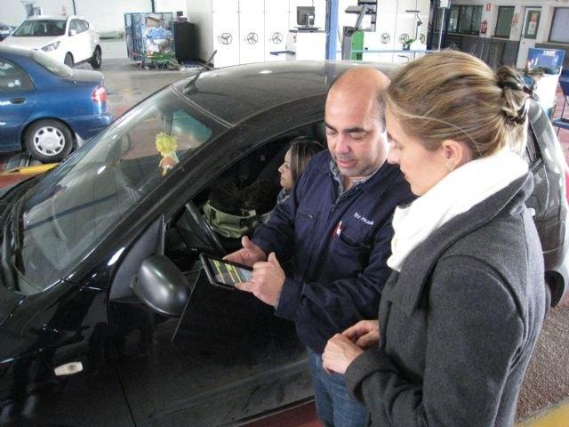 La ITV de Alcantarilla incorpora un sistema de firma digital que agilizará la inspección de vehículos - 1, Foto 1