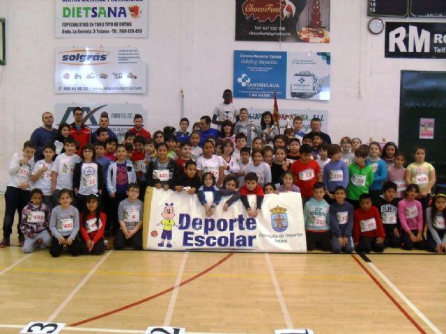 La Fase Local de Jugando al atletismo de Deporte Escolar contó con la participación de 71 escolares, Foto 1