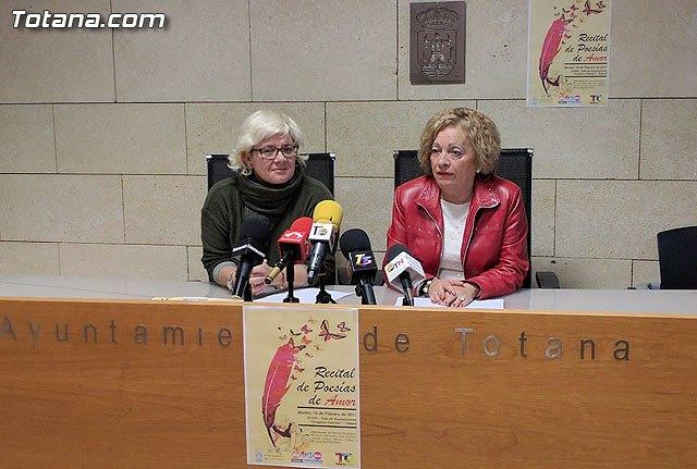 La Sala de Exposiciones Gregorio Cebrián acogerá un Recital de Poesías de Amor el martes 14 de Febrero, Foto 1