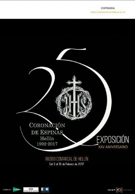 Totana estará presente en la exposición 25 aniversario de la Cofradía Coronación de Espinas de Hellín, Foto 2