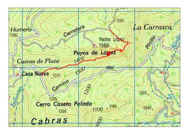 Se restringirá el tránsito temporal a personas y vehículos en las zonas de Carmona-Cuevas Luenga y Solana de Pedro López (Sierra Espuña), Foto 2