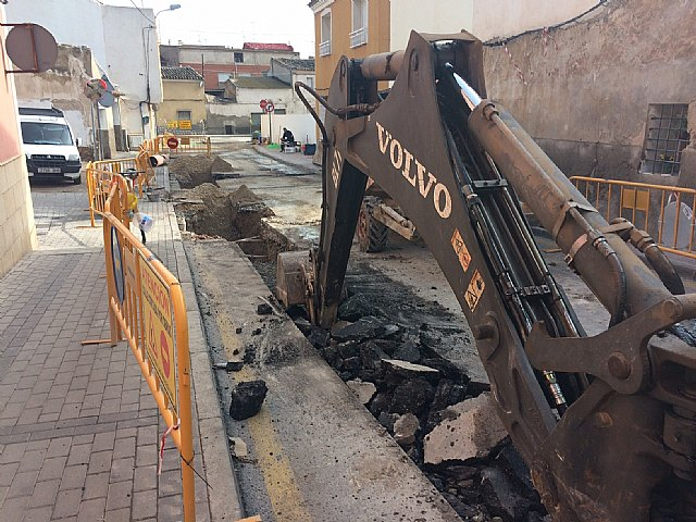The renovation works of the supply and sanitation network in an important section of the Cañada Zamora are underway, Foto 4