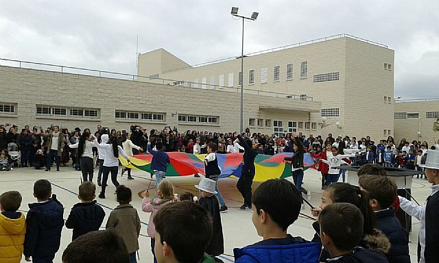 The CEIP La Cruz celebrated the School Day of Nonviolence and Peace - 1