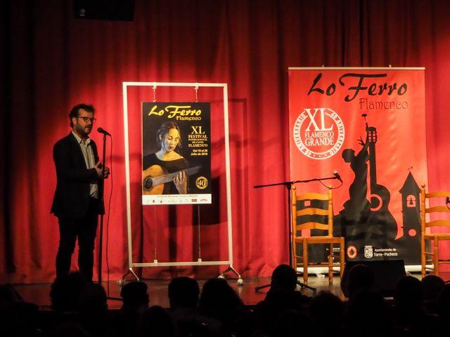 El cante de Evaristo Cuevas da brillo al cartel de la 40ª edición del Festival de Lo Ferro - 1, Foto 1
