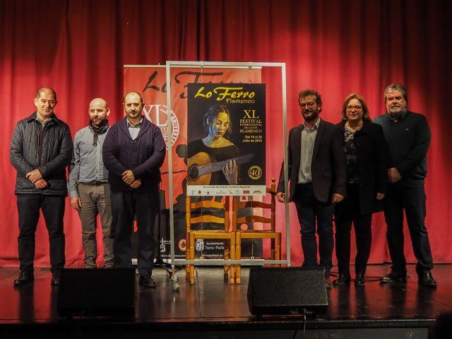 El cante de Evaristo Cuevas da brillo al cartel de la 40ª edición del Festival de Lo Ferro - 2, Foto 2