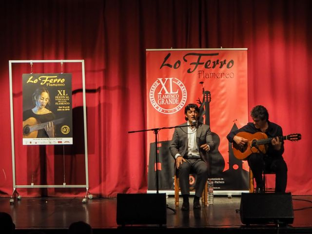 El cante de Evaristo Cuevas da brillo al cartel de la 40ª edición del Festival de Lo Ferro - 4, Foto 4
