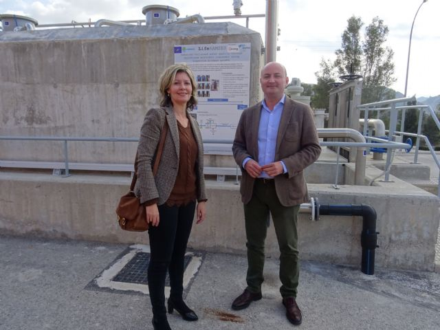 La depuradora de Blanca reduce los costes de tratamiento y mejora de la calidad del agua con un sistema pionero en Europa - 1, Foto 1