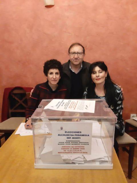Mar�a Jos� Romero es elegida, de nuevo, alcaldesa ped�nea de Mort� para esta legislatura, Foto 5