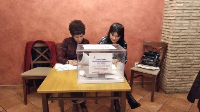 Mar�a Jos� Romero es elegida, de nuevo, alcaldesa ped�nea de Mort� para esta legislatura, Foto 6