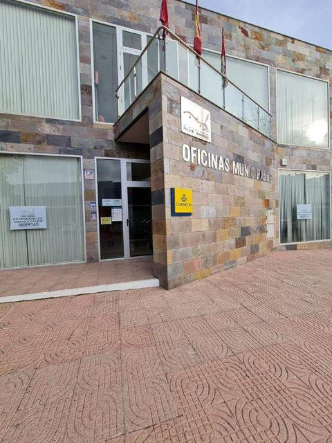 Las dependencias municipales de El Esparragal-La Estación reabren al público tras permanecer cerradas por la COVID-19 - 1, Foto 1