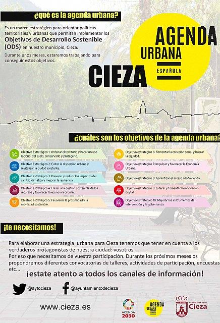 La Agenda Urbana de Cieza, pensando un nuevo modelo de ciudad - 1, Foto 1