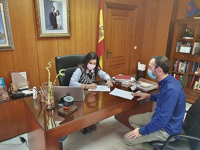 El Ayuntamiento de Alguazas firma un convenio con AMIAB - 1, Foto 1