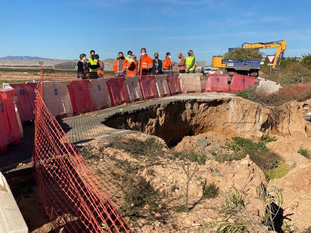 Se inician las obras de mejora de la seguridad vial de la carretera que une Balsicas con Los Alcázares - 1, Foto 1