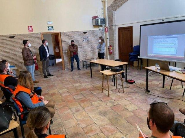 Veinte voluntarios de Protección Civil inician las labores de rastreo en las dependencias del Centro Joven - 1, Foto 1