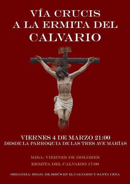 La Hdad. de Jesús en el Calvario celebra mañana su tradicional Via Crucis, Foto 1