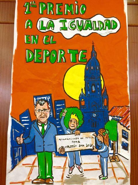 Los escolares del centro San José de Espinardo se alzan con el premio ´Igualdad en el Deporte´ - 2, Foto 2