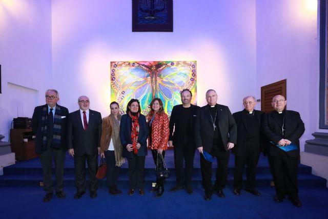 Se inaugura en la UCAM la exposición Carbono Neutro de los artistas MUHER, Foto 1