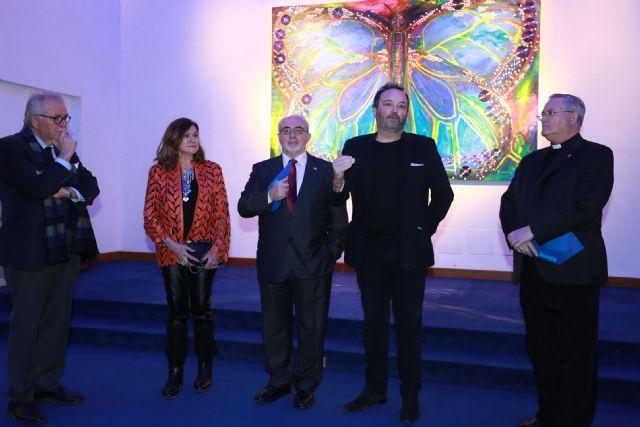 Se inaugura en la UCAM la exposición Carbono Neutro de los artistas MUHER, Foto 2