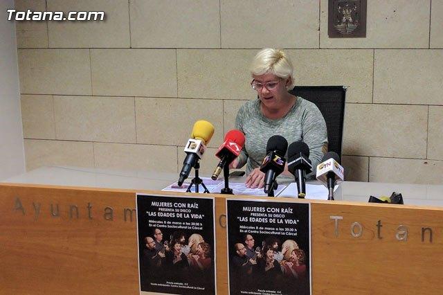 Presentación programa institucional actos conmemorativos Día Internacional de la Mujer Trabajadora, Foto 1