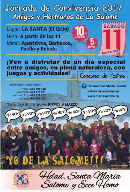 La Hdad. de Santa María Salomé organiza una jornada de convivencia en La Santa, Foto 1