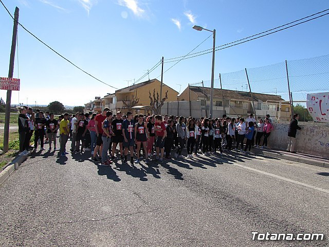 El IES Prado Mayor colabora con la ONG Save the Children en la carrera solidaria educativa Kilómetros de solidaridad, Foto 1