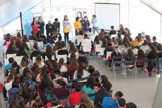 """Cerca de 120 Corresponsales Juveniles asisten en Archena al """"Encuentro Intermedio de Formación en Redes Sociales"""" - 2, Foto 2"""