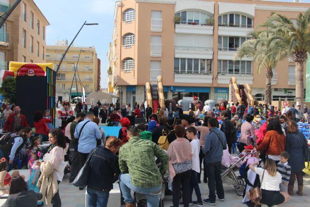 Disfraces, música e hichables en el carnaval infantil de San Pedro del Pinatar - 1, Foto 1