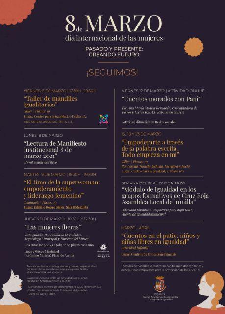 La Concejalía de Igualdad presenta las actividades por el Día de las Mujeres con el lema 'Pasado, presente: creando futuro' - 2, Foto 2