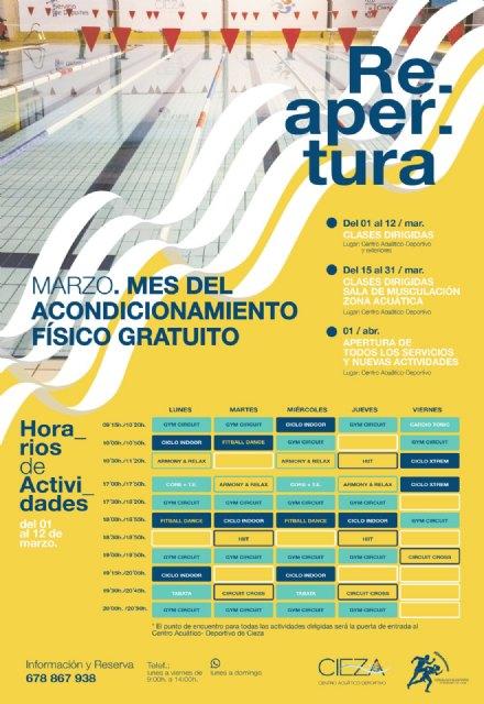 La Concejalía de Deportes ofrece un programa de acondicionamiento físico gratuito - 1, Foto 1