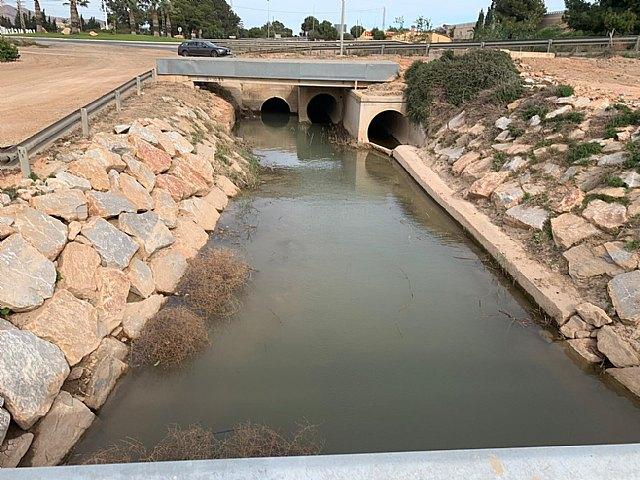 El presidente de la CHS ha adjudicado el proyecto para aumentar la capacidad hidráulica del drenaje agrícola D7 del campo de Cartagena - 2, Foto 2