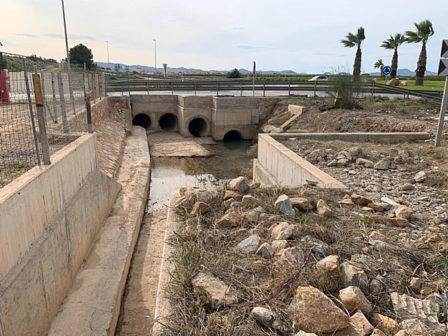 El presidente de la CHS ha adjudicado el proyecto para aumentar la capacidad hidráulica del drenaje agrícola D7 del campo de Cartagena - 3, Foto 3