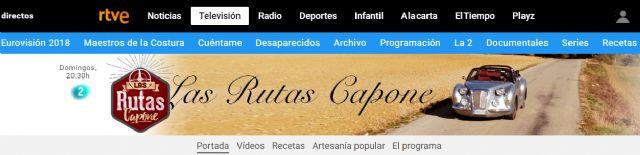 El programa de La 2 de TVE Las rutas Capone está grabando en Moratalla uno de sus capítulos - 5, Foto 5