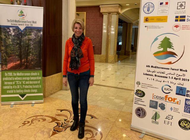 La Regi�n expone el caso de Sierra Espuña como ejemplo de desarrollo sostenible en una cumbre mediterr�nea de cooperaci�n forestal, Foto 1