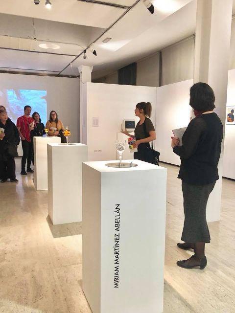 Obras de Miriam Martínez Abellán, en la I convocatoria de artes visuales Pluri-Identitats 19 - 1, Foto 1