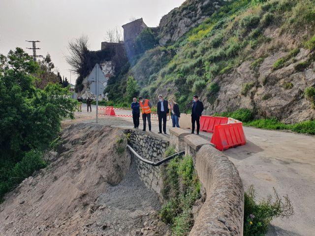 La Comunidad mejora la seguridad de la carretera de acceso al antiguo puente sobre el Río Argos en Cehegín - 1, Foto 1