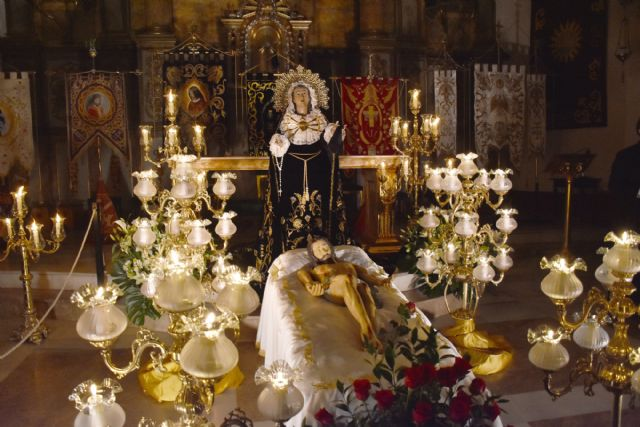 Acto del Santo Entierro el Viernes Santo por la noche en Calasparra - 2, Foto 2
