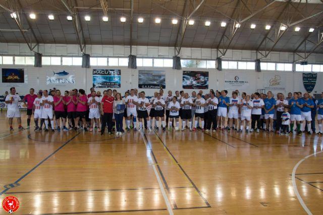 El Homenaje a las Leyendas del Fútbol Sala de San Pedro del Pinatar reunió a cerca de 100 jugadores - 1, Foto 1