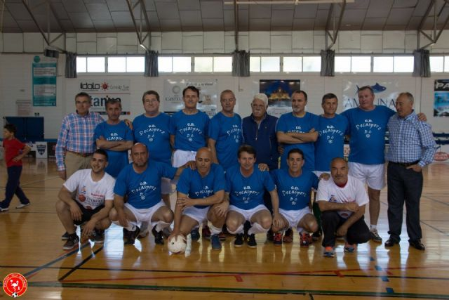 El Homenaje a las Leyendas del Fútbol Sala de San Pedro del Pinatar reunió a cerca de 100 jugadores - 2, Foto 2