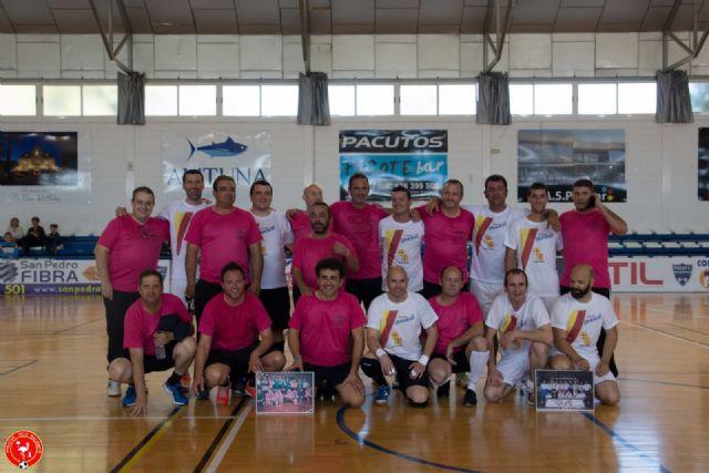 El Homenaje a las Leyendas del Fútbol Sala de San Pedro del Pinatar reunió a cerca de 100 jugadores - 4, Foto 4