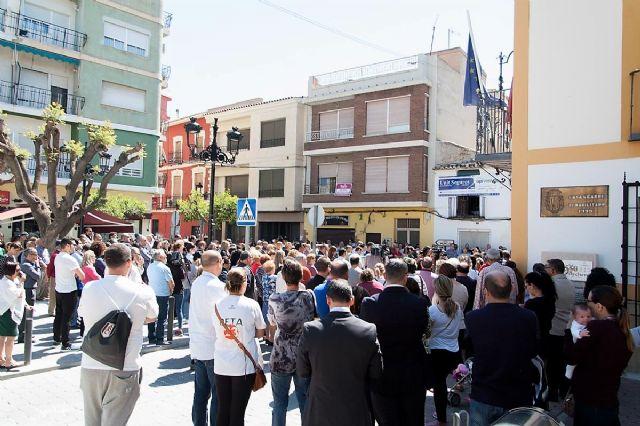 Luto oficial de dos días, minuto de silencio y banderas de Archena a media asta, el homenaje del pueblo de Archena al vecino asesinado - 2, Foto 2