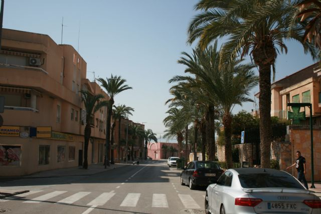 The avenue of Lorca space is approved as a healthy urban itinerary in the municipality of Totana