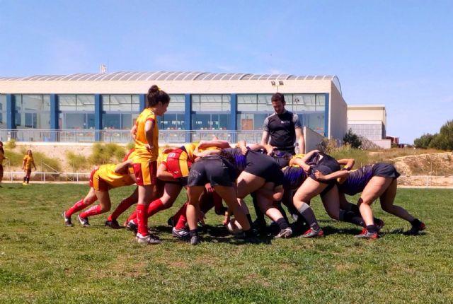 Las Torres de Cotillas acogió la final de la Copa de la Liga de rugby femenino, con victoria del XV Rugby Murcia - 1, Foto 1