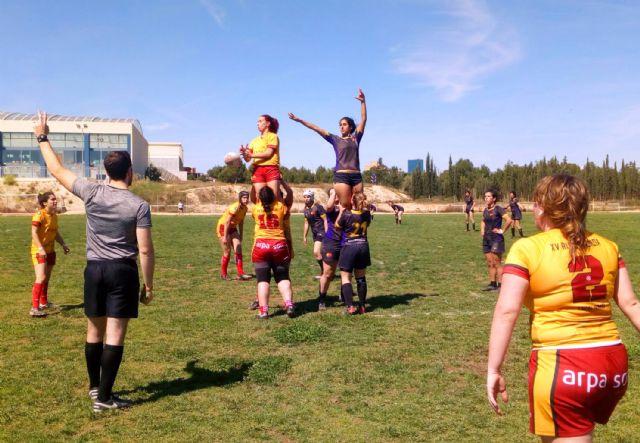Las Torres de Cotillas acogió la final de la Copa de la Liga de rugby femenino, con victoria del XV Rugby Murcia - 2, Foto 2