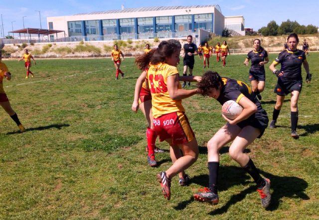 Las Torres de Cotillas acogió la final de la Copa de la Liga de rugby femenino, con victoria del XV Rugby Murcia - 3, Foto 3