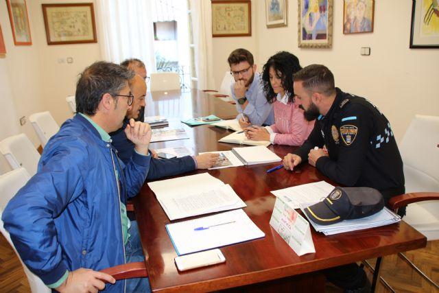 El Ayuntamiento coordina con Policía Local el dispositivo de seguridad para Los Mayos, Foto 1