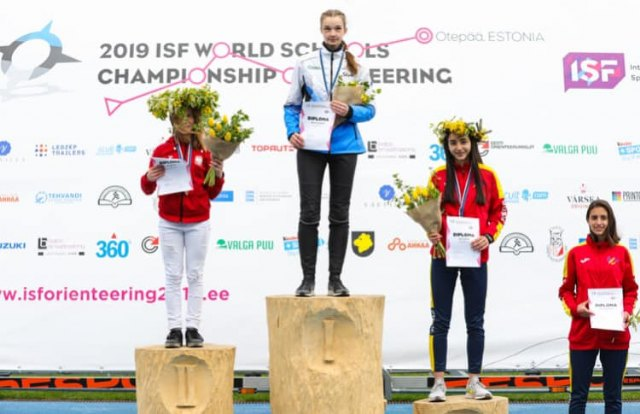 Marta Martínez Barceló 4ª del mundo en media distancia