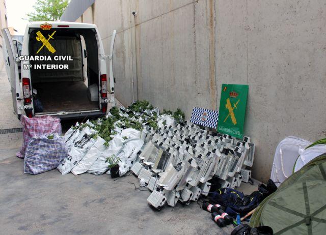 Desmantelan un  invernadero de marihuana en Puerto Lumbreras - 3, Foto 3