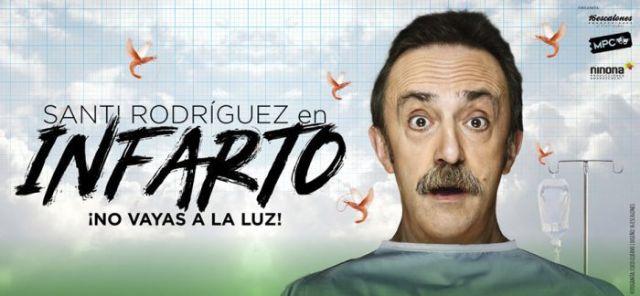 Santi Rodríguez burla la muerte con mucho humor en ´Infarto, ¡No vayas a la luz!´ - 2, Foto 2